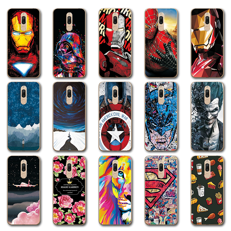 Novelty Hero Avengers Phone Bags For <font><b>Meizu</b></font> <font><b>M6T</b></font> Case M 6T <font><b>M811H</b></font> Iron Man Painted Clear Silicone Case Cover For <font><b>Meizu</b></font> <font><b>M6T</b></font> 5.7