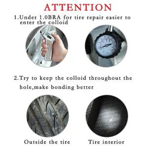 Image 3 - Auto Tire Repair Kit Emergency Vacuüm Band Snelle Reparatie Tool Inner Rubber Strip Bonding Kofferbak Motorfiets Draagbare Fietsband Tool