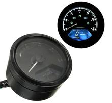 12V LED Odometer Motorcycle Speedometer Backlight Night Tachometer Gauge Panel Digital 12000RPM