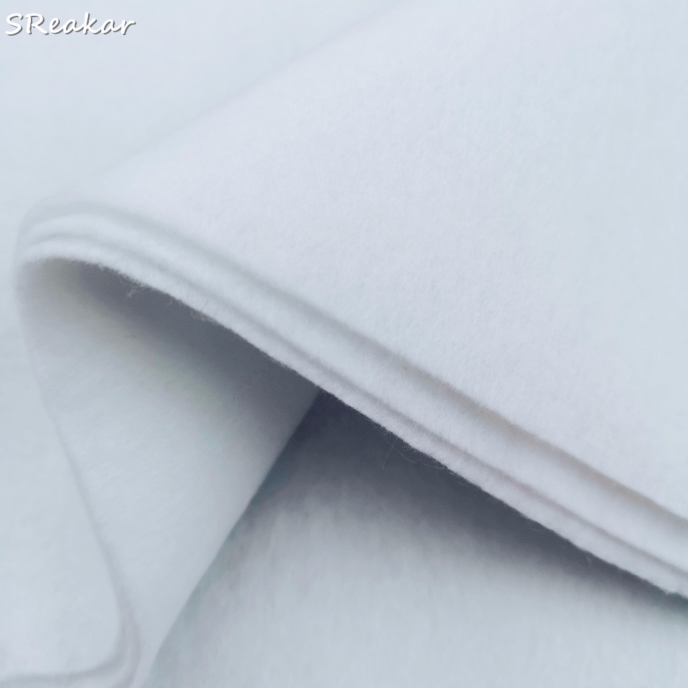 2m Adhesive Lining Non-Woven Fusible Interlining Fabric for Appearl Clothing