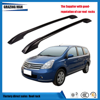 Для GENISS крыши багажник решетки боковой направляющей Чемодан бар дорожная сумка для багажа Продольный брус крыши Алюминиевый сплав