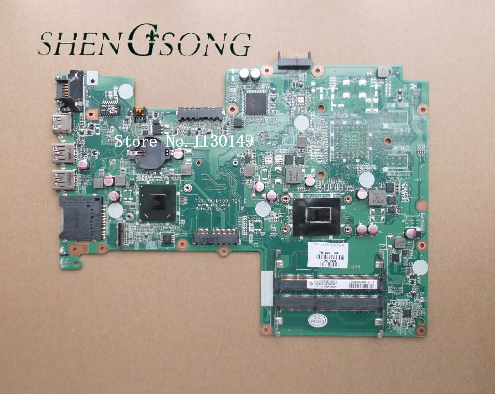 701696-001 Freeshipping Laptop Motherboard 701696-501 for Pavilion 15 SR0N9 i3-3217U SLJ8C chips DA0U36MB6D0 tested OK 744008 001 744008 601 744008 501 for hp laptop motherboard 640 g1 650 g1 motherboard 100% tested 60 days warranty