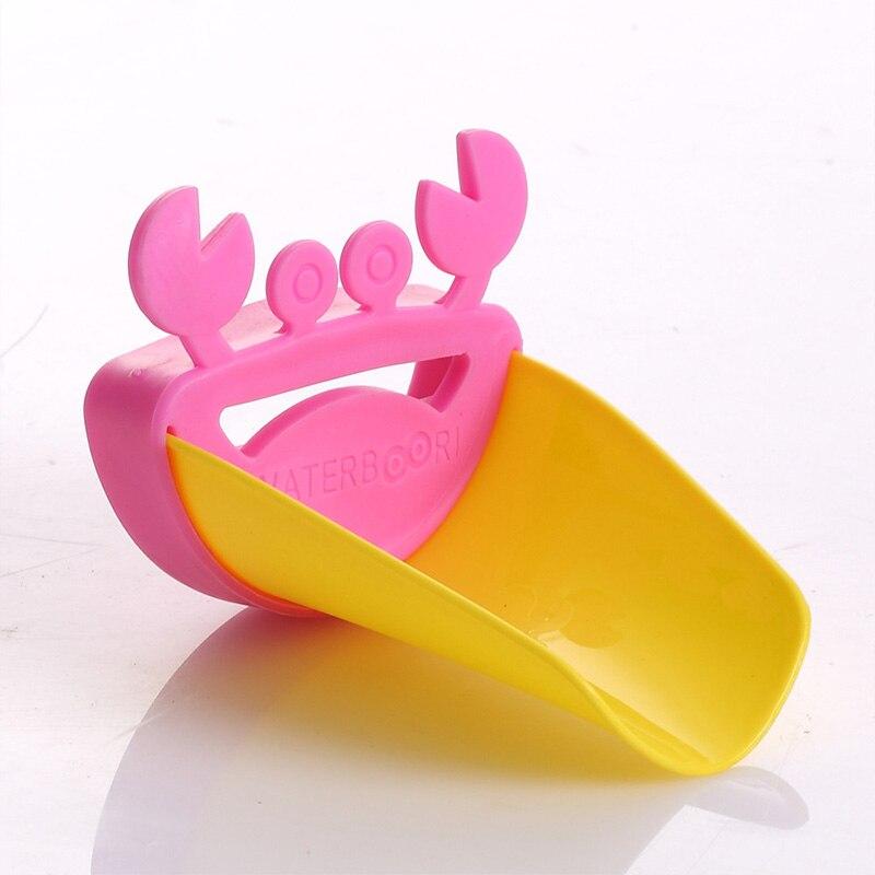 Кран расширение детская направляющая раковина дезинфицирующее средство для рук приспособления для умывания НОВЫЙ Краб Мультфильм