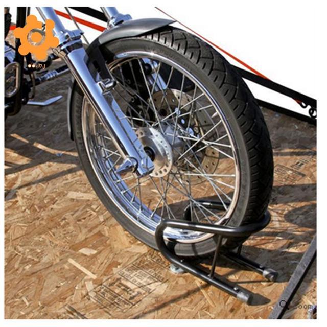 Trailer Wheel Chocks >> Motorcycle Wheel Chock Kit 5 5 For Scooter Bike Stand Trailer Truck