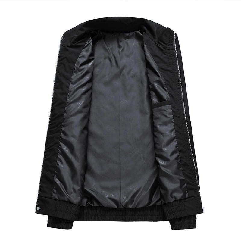 AIRGRACIAS באיכות מפציץ גברים מעילי בגדים בציר צבע בלוק טלאי מעיל רוח מעילי סתיו היפ הופ Streetwear מקרית