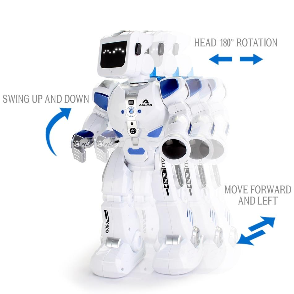 D'eau Au Volant Danse RC Robot Avec Anglais Musique Intelligente Télécommande Figurines Jouets Pour Enfants Enfants Cadeau D'anniversaire - 4