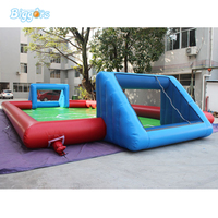 2018 Inflatable Football Field Soap Soccer Field With Free Blowers