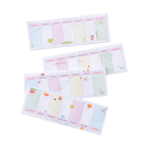1pack/lot Kawaii Message Label Memo Sticker Weekly Plan Events Memo N Times Self Adhesive Schedule Sticky Notes Cute Bookmaker