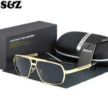 Новая мода Мужские поляризационные солнцезащитные очки фильм Звезда модель любимая большая рамка классические мужские солнцезащитные очки поляризационные