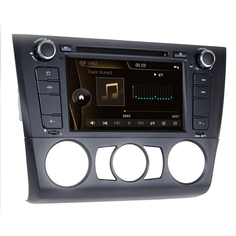 Xonrich AutoRadio GPS Navigation multimédia 1 Din lecteur DVD de voiture pour BMW E87 BMW 1 série E88 E82 E81 I20 unité de tête 3G BT
