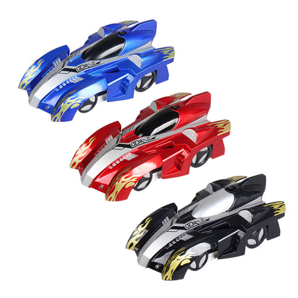 Rechargeable RC Wall Climbing Car Remote Control Anti Gravity Ceiling Racing Car Electric Toys Machine Auto Gift for Children