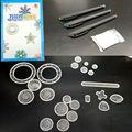 Conjunto de luxo Espiral Spirograph Projetos Bloqueio Gears Gears & Wheel with3 pcs Canetas, brinquedo educativo Desenho Criativo Para Adultos & crianças