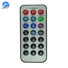 Universal IR Infrared Remote Controller IR Extender Remote Learning 21 Keyboard Wireless TV Box MP3 Player Controller(China)