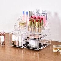 Acrylic Makeup Box Women Cosmetic Storage Box Organizer High Quality Lipstick Box Jewelry Box Desktop Drawer
