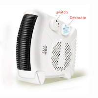 w519 Portable High power Heater Household Office Dormitory Hotel Electric Heating fan Hot Cold Wind Air Conditioning