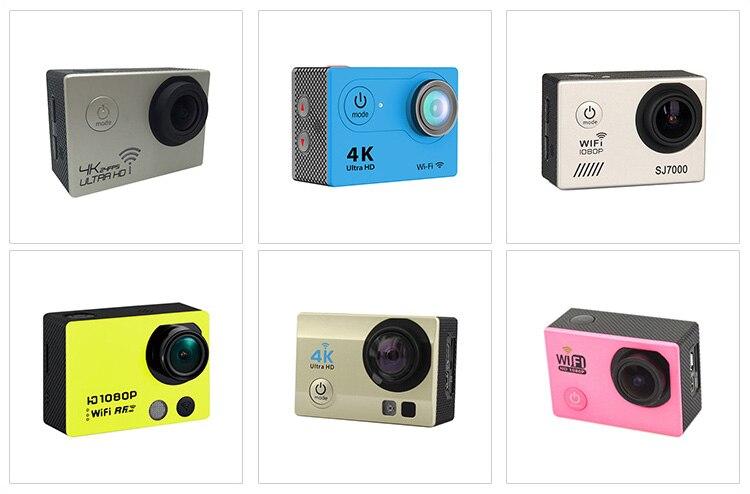 ФОТО H9R Action Camera Ultra HD 4K WiFi 1080P Sport Go 2.0 LCD 170D lens go waterproof Pro Camera