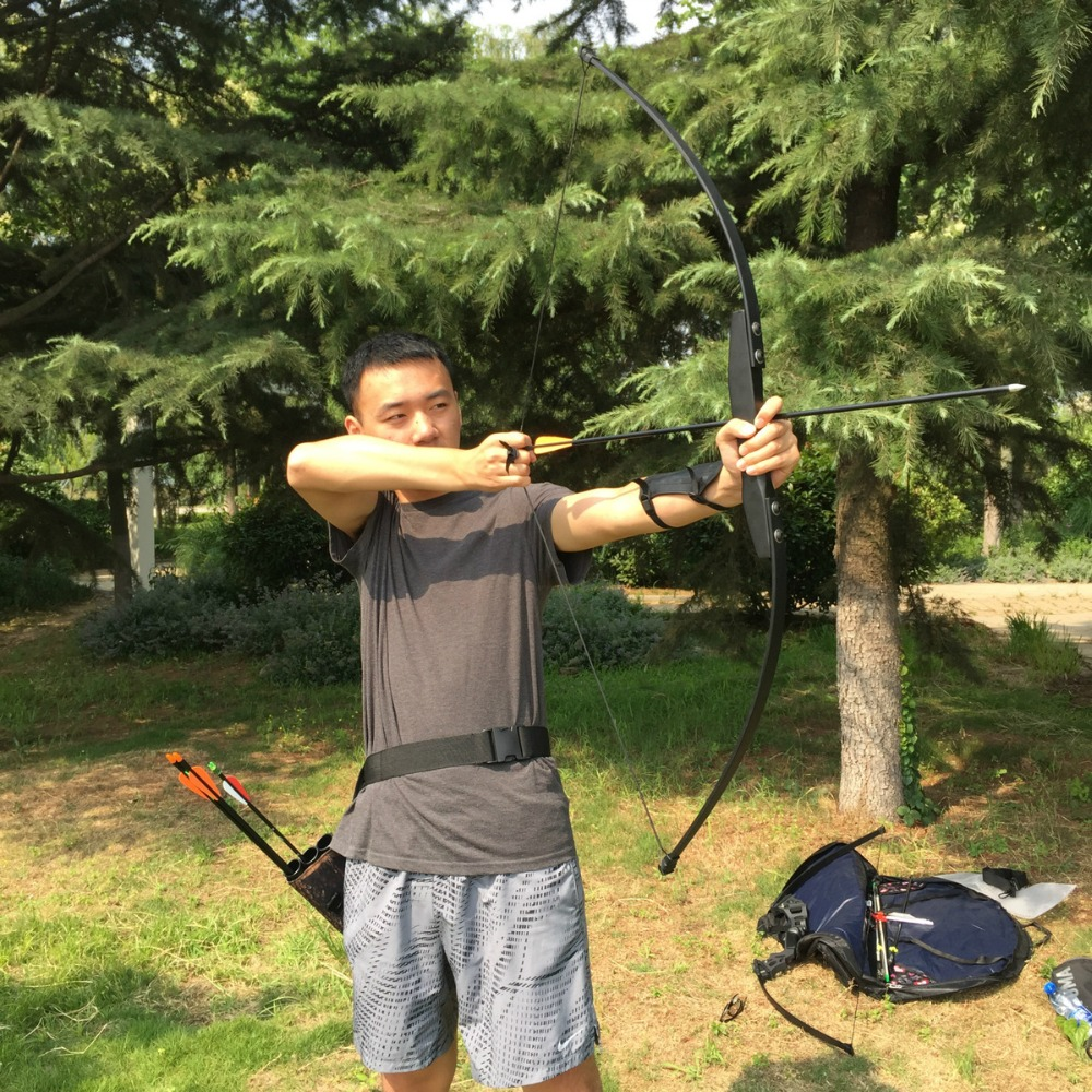 Image 5 - Professional Recurve Bow for Right Hand 30/40lbs Wooden Archery Outdoor Shooting Hunting Practice Sports G01-in Blind & Tree Stand from Sports & Entertainment