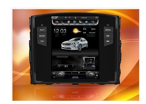 "Otojeta вертикальный экран ips 9 ""4 ядра Android 6.0.1 dvd-плеер автомобиля для mitsubishi pajero V93/v97 Мультимедиа стерео головного устройства"