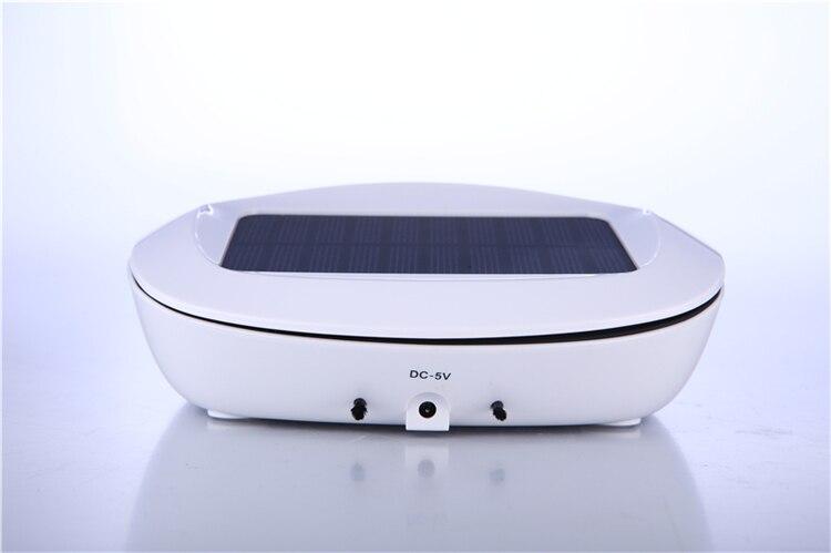 Car Air Purifier : Mini size vehicle solar car air purifier negative ion