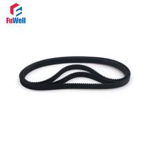 GT2 Timing Pulley Belt 2GT-392/396/400/406/410/430/444/450/460/466/488 Closed Loop Rubber Belt 6/10mm Width Gear Pulley Belt(China)