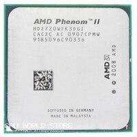 AMD Phenom II X3 720 Triple Core CPU Processor 2 8Ghz 6M 95W 2000GHz Socket Am3