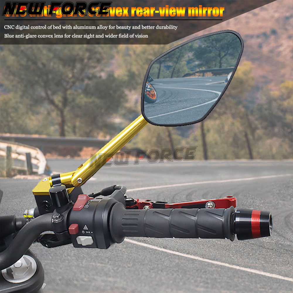 Universal Motorcycle Backup Rearview Mirrors accessories Rear View Mirror FOR Spring Breeze CF NK150/250 <font><b>NK400</b></font>/650 All years image