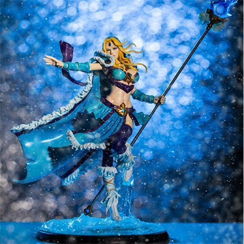 DOTA 2 Figure Crystal Maiden PVC Action Figure Collectible Model Toy 20cm 16cm japan anime dota 2 butcher pvc children christmas gifts doll action figure collectible model toy t5844
