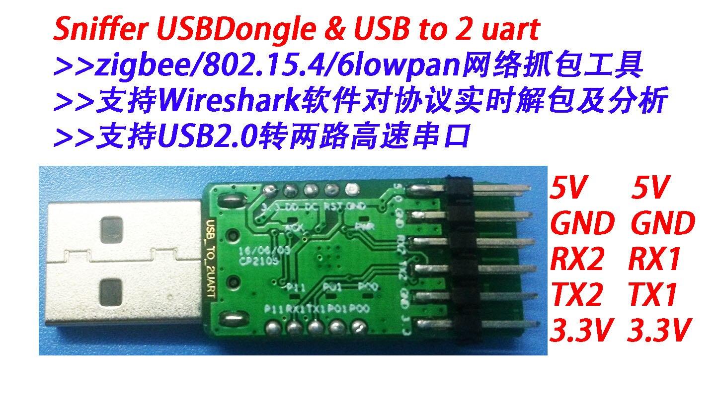 CC2530 USB sniffer software protokoll analyse Dongle, unterstützung ...