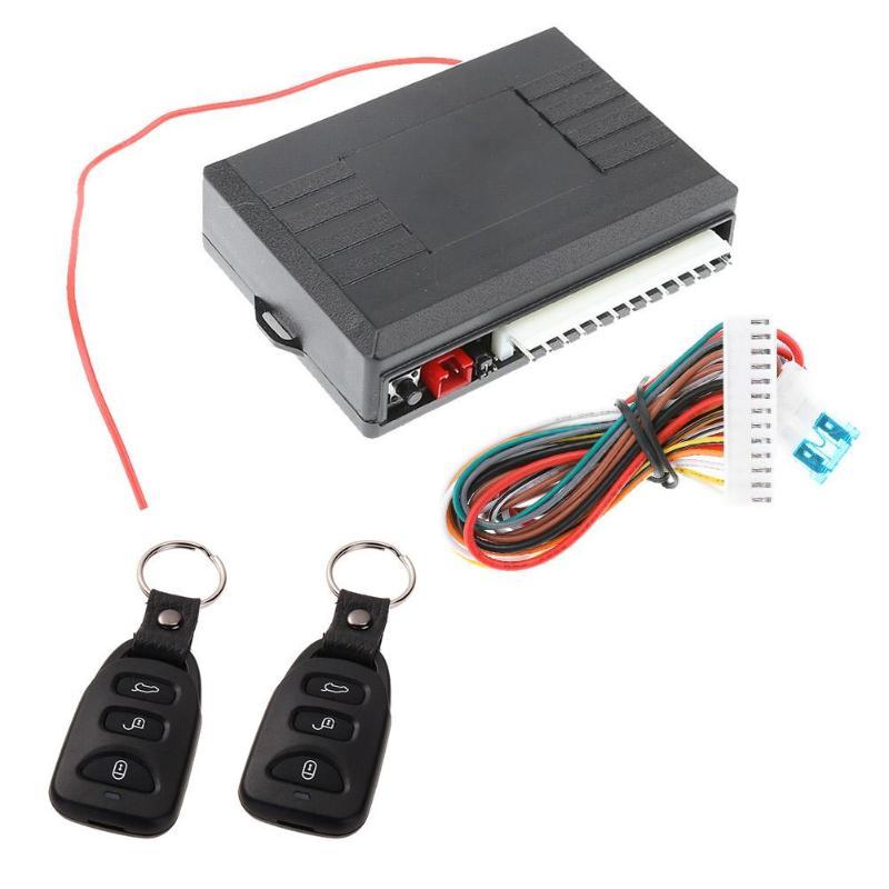 VODOOL Universal Car Alarm Systems Auto Door Lock Vehicle ...