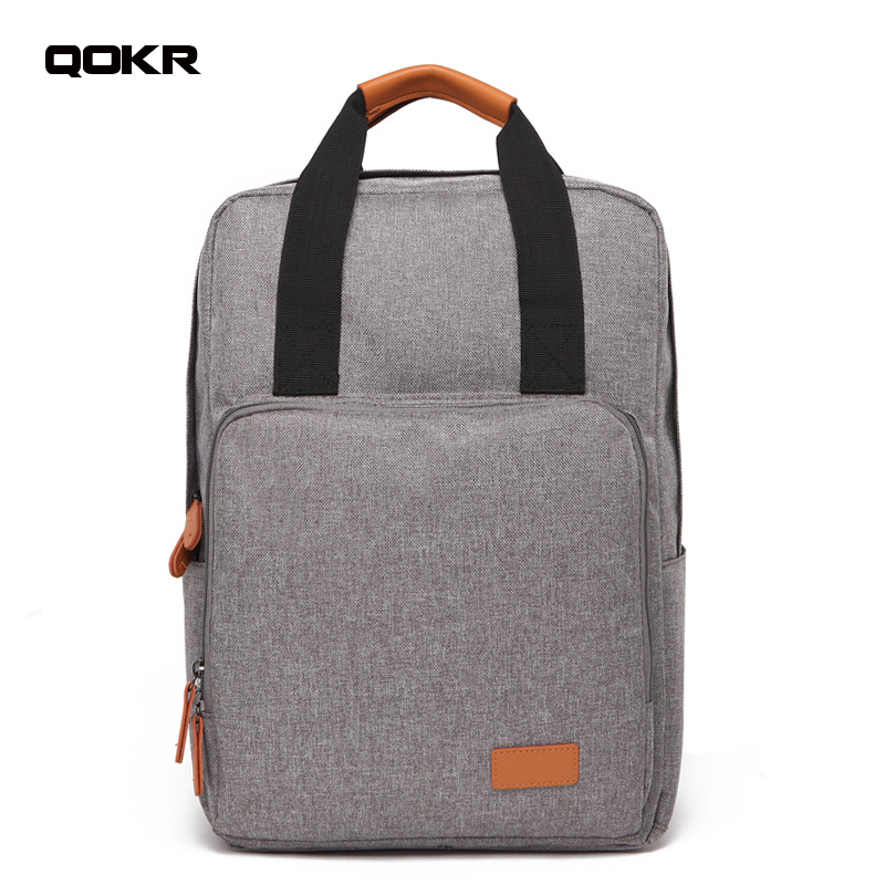 QOKR Waterproof Anti-theft 15.6 Inch Laptop Backpack Leisure School Bags Men&Woman oxford rucksacks Mochila business travel bags ...