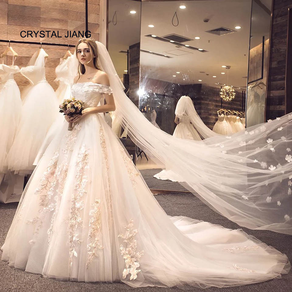 Most Beautiful Ball Gown Wedding Dresses: Aliexpress.com : Buy Most Beautiful 2018 Vestido De Noiva