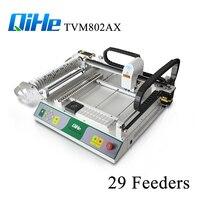 Легко Применение автоматический PCB печатная машина с 2 камеры и 29 кормушки, настольный SMT Палочки и место машина для SMT линии