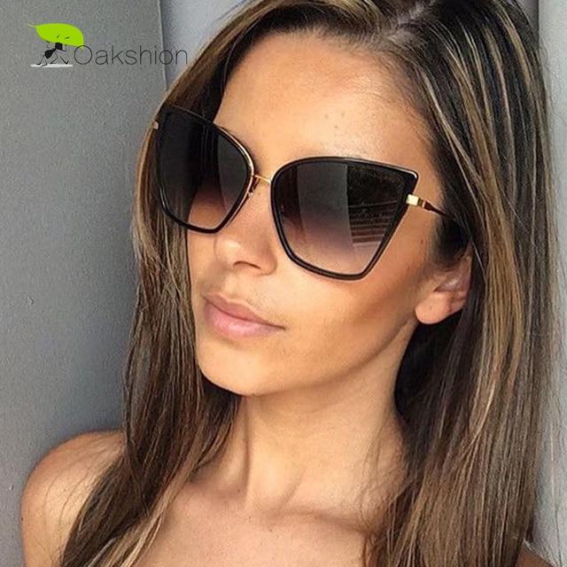 2018 Mode Lunettes de soleil Femmes Marque Designer En Métal Réfléchissant  Miroir Lunettes de soleil pour 7bd8028c0478