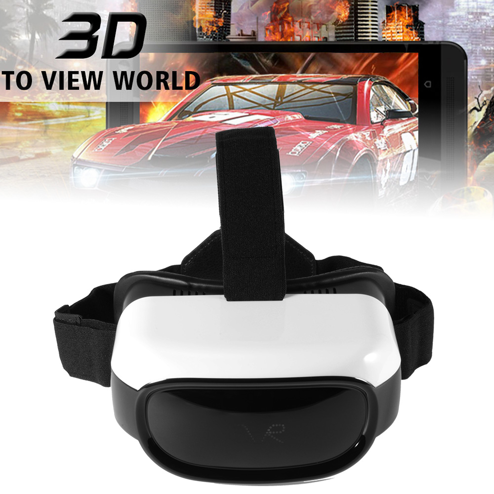 All in One VR Headset HD 3D VR Glasses Android 5.1 8GB 5inch Display Video Movie Player AC629