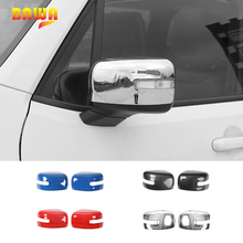 BAWA Car Stickers for Jeep Renegade 2016-2017 Rearview Mirror Cover Accessories