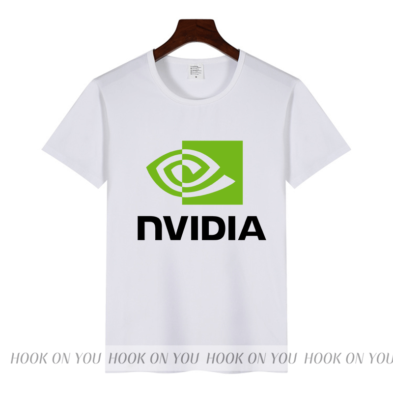 high Quality AMD intel Nvidia Men t shirt Geforce GTX men T-shirt camisetas Computer Peripherals fashion novelty