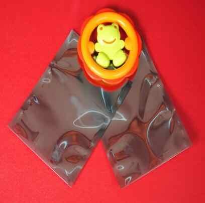 Оптовая продажа 1000 шт/партия 6*8 см антистатическое Экранирование сумки для хранения ESD Антистатический пакет сумка Открытый антистатик пакет сумка
