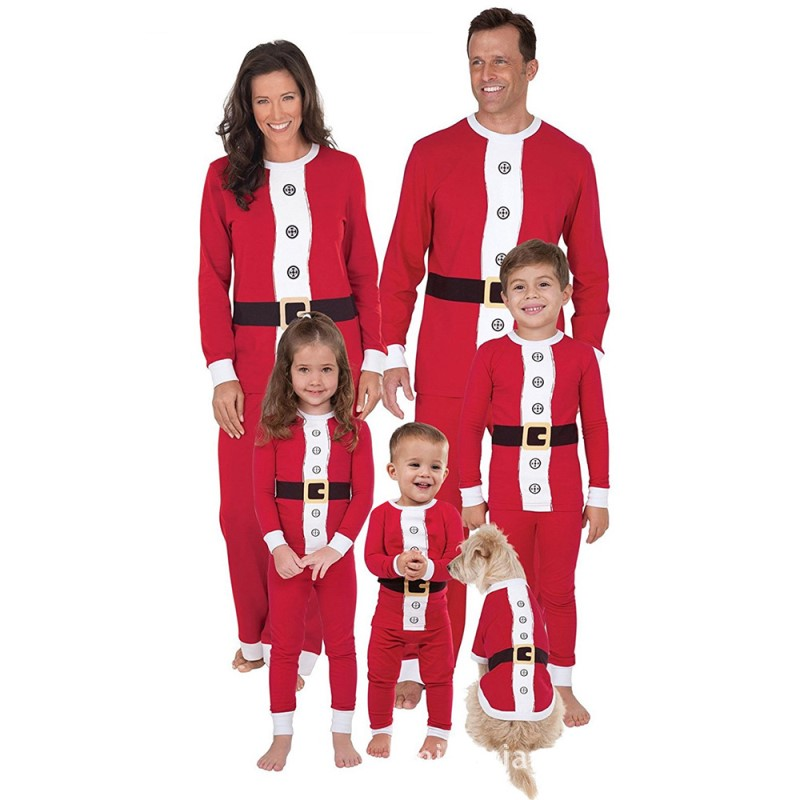Mother Christmas.Us 12 98 Family Look Christmas Pajamas Santa Claus Costume Mother And Daughter Clothes Family Matching Christmas Pyjamas Clothing Red In Matching
