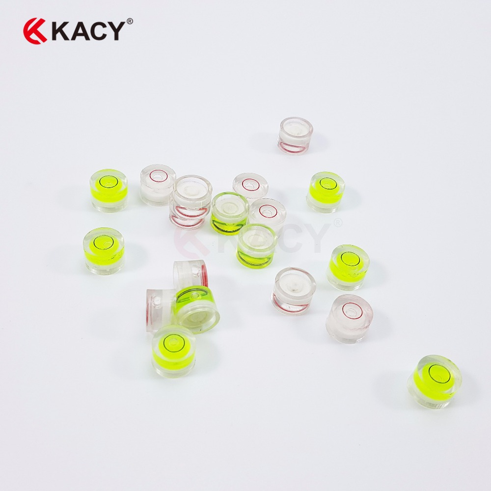 Round Bubble Level Turntable 5pcs Small Circular Bubble Level 15mm Bubble Spirit Level Circular Bullseye Level Inclinometers for Tripod Phonograph