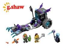 g.shaw bricks toy DIY Building Blocks Compatible with Lego Ruina's Lock & Roller 70349
