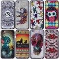 12 modelos de luxo pintura 3d fashion case para apple iphone 6 capa iphone6 case 4.7 polegada cobre pele frete grátis