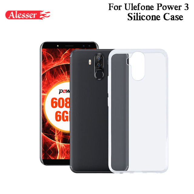 new product b8b84 84183 US $2.86 |Aliexpress.com : Buy Alesser For Ulefone Power 3 Silicone Case  Soft Transparent Protective Back Cover Anti knock Shell For Ulefone Power  3S ...