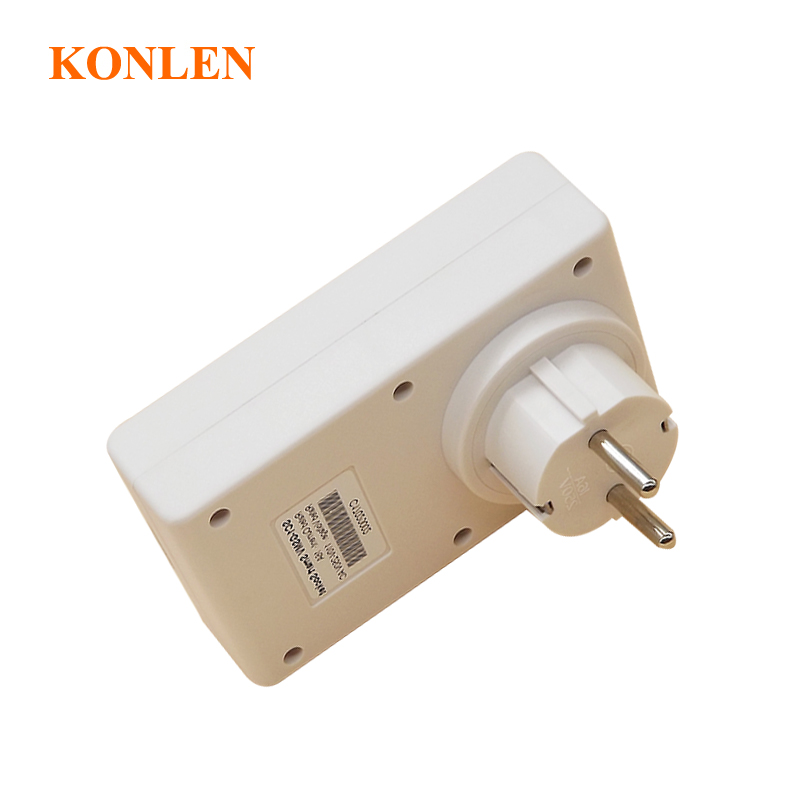 Image 3 - 16A EU GSM Power Socket Remote Control Relay Smart Outlet Switch SMS Call Android IOS ON OFF for Light Garage Door Gate Opener-in Building Automation from Security & Protection