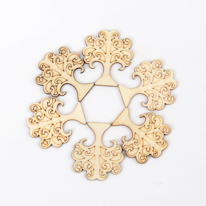 Natural Wood Tree Wood Pattern Scrapbooking Art Collection Craft For Handmade Accessory Sewing Home DIY 35mm 20pcs MZ146