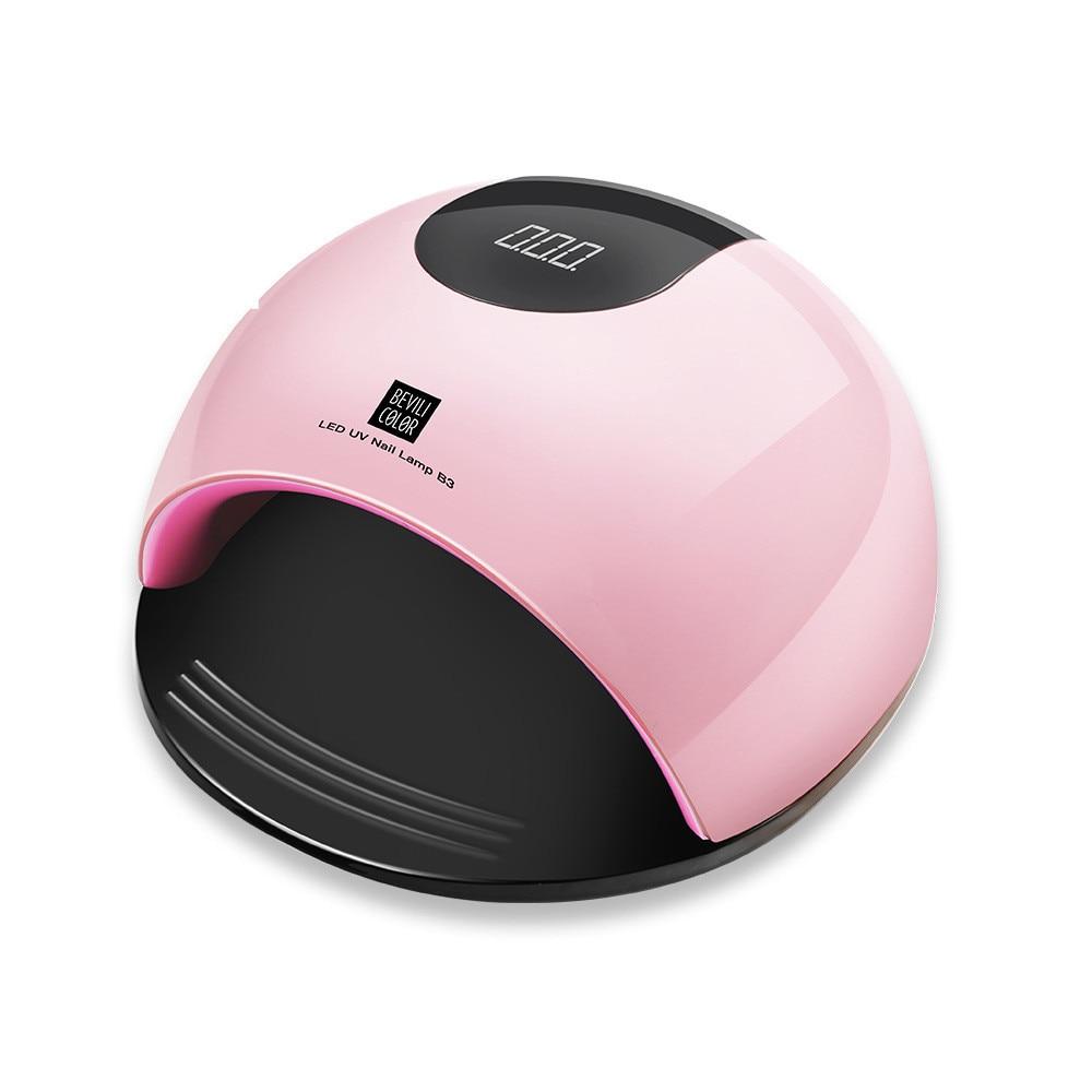 80w LED UV Light Dry Nail Glue Nail Dryer Dryer SUN White Light Fast Bake Rubber Manicure Tool
