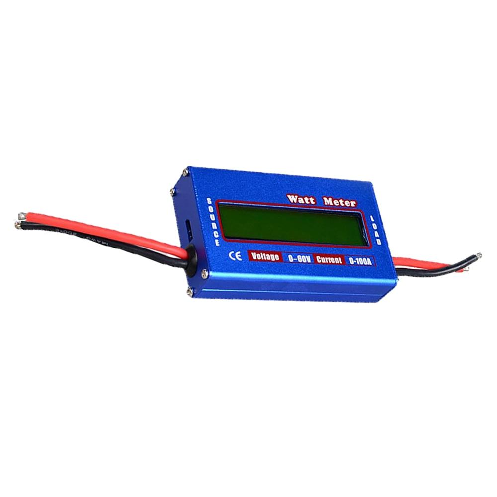 60V / 100A <font><b>Watt</b></font> RC <font><b>meter</b></font> dynamometer <font><b>battery</b></font> balances power voltage peak Checker Analyzer (blue)