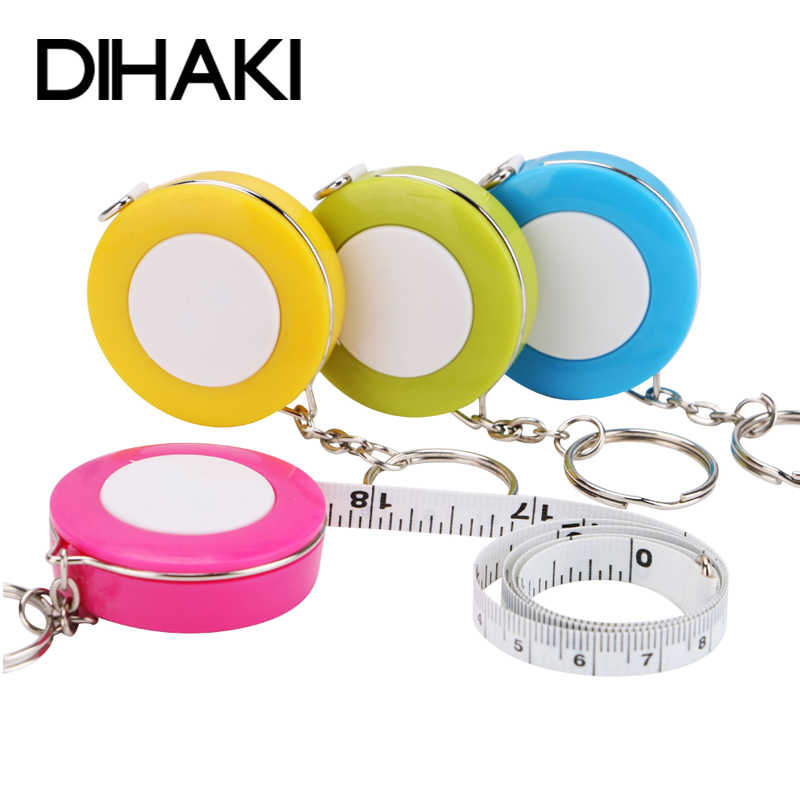 Measuring Tape Measure Keychain