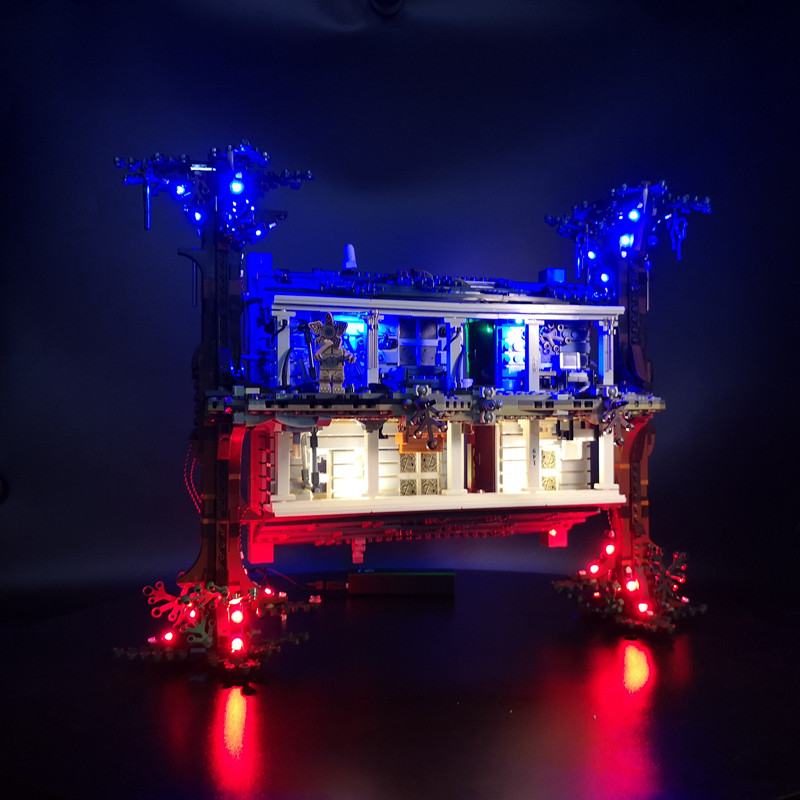 LED Light Kit For lego 75810 stranger things the upside down (not include the blocks set )