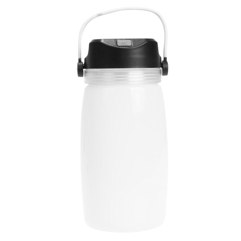 Солнечный Перезаряжаемые силиконовые чашки освещения палатка свет на открытом воздухе Переносной Фонарь вода стекла лампа
