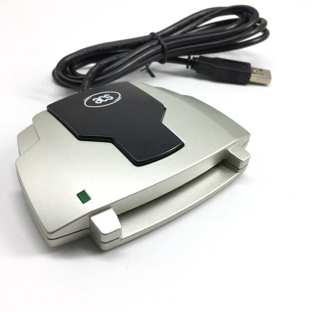 ACR38 A4 ISO 7816 считыватель контактов писатель со слотом SAM поддержка EMV, SLE4442 SLE4428 AT24C64 EEPROM карты памяти